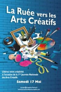 Affiche La Ruée vers les Arts Créatifs