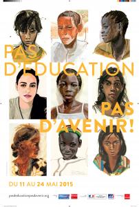 Pas d'Education, pas d'Avenir 2015 - Affiche