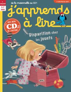 J'apprends à lire : disparition chez les jouets