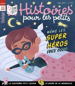 Couverture magazine Histoires pour les petits - atelier lecture