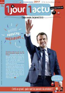 1jour1actu : Emmanuel Macron, nouveau Président de la République