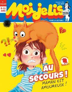 Couverture Moi je lis magazine : au secours ! Maman est amoureuse !