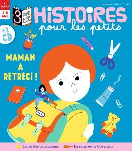Couverture Histoires pour les petits - Maman a rétréci !