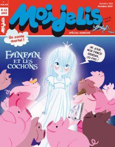 Magazine Moi je lis : Fanfan et les cochons