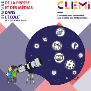 Semaine de la Presse et des Médias dans les écoles 2018