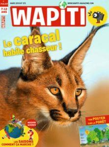 Couverture du magazine Wapiti - Fiches pédagogiques Atelier Environnement