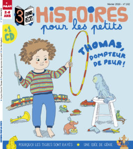 La peur bleue de Thomas - Histoires pour les petits