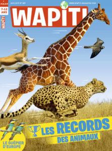 Couverture Wapiti magazine