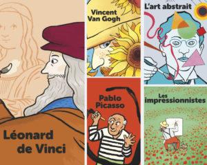Livres Mes Docs Art - Éditions Milan
