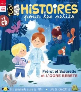Couverture magazine Histoires pour les petits