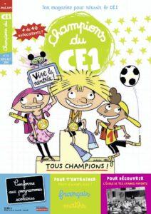 Couverture Champions du CE1 N°56