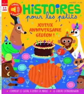 Couverture Histoires pour les petits - Mai