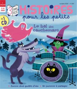 Couverture Histoires Pour les Petits Octobre 2020