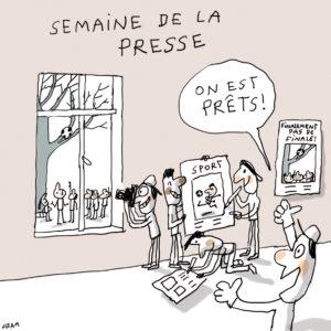 Jacques Azam Semaine de la Presse