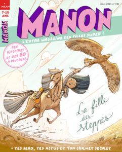 Manon magazine Fille des steppes