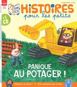 Couverture magazine Histoires pour les petits 211